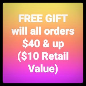🎁Free Gift🎁$10 Value🎁When You Spend $40🎁
